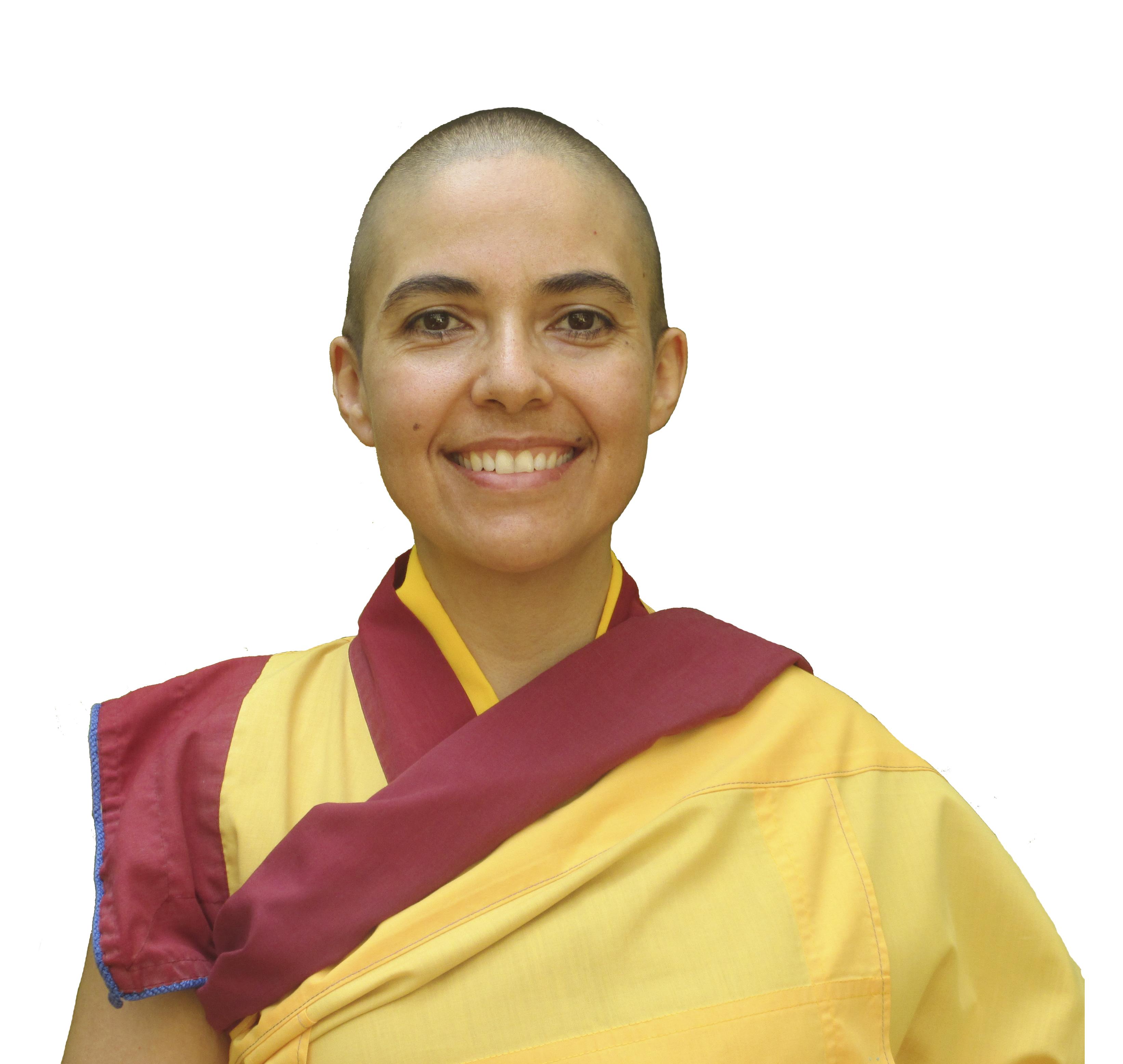Guen Kelsang Chime, monja budista y maestra principal del Centro Budista Kadampa Compasión.